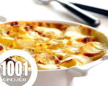 Смачний картопляний гратен