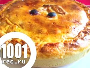 Баскська пиріг з вишнею