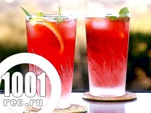 Безалкогольний ягідний мохіто