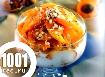 Швидкий десерт Сир ??з абрикосами