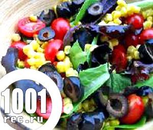 Швидкий салат За-мексиканськи