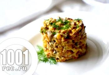Швидкий салат з морквою і кукурудзою