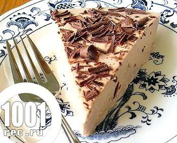 Чізкейк з молочного шоколаду