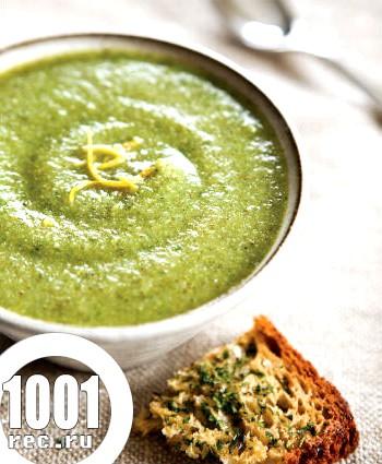 Дитячий суп-пюре з гороху і капусти