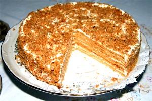 Домашній медовий торт