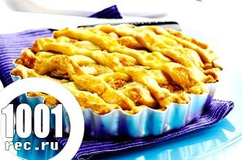 Домашній пиріг з ананасом