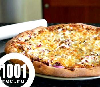 Дріжджове заварне тісто для піци