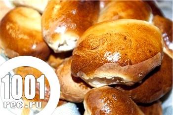 Духові пиріжки з гречано-грибною начинкою