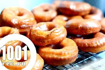 Глазуровані пончики: рецепт з какао