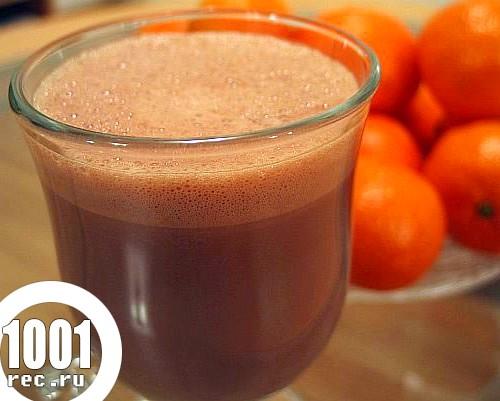 Гарячі напої для дітей: рецепт гарячого шоколаду і виноградного компоту
