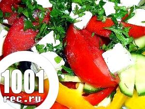 Грецький салат класичний з бринзою