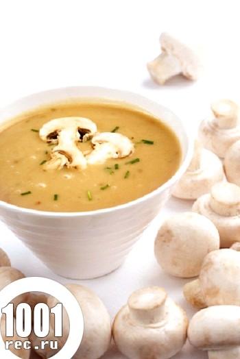 Грибний гострий суп