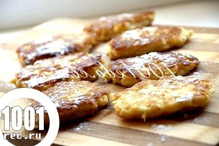 Яблучні оладки: рецепт оладок з покроковим фото