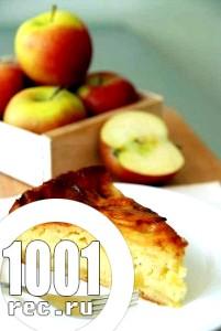 Яблучний пиріг шарлотка на кефірі