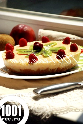Ягідно-йогуртовий десерт без випічки: рецепт з покроковим фото