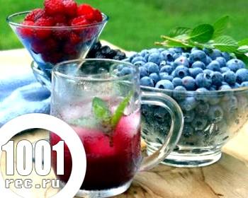 Ягідний компот: 7 рецептів