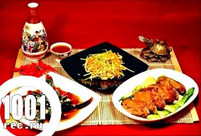 Екзотична китайська кухня.
