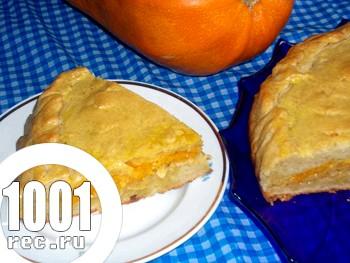 Капустяно-гарбузовий пиріг на кефірі