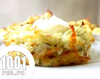 Картопля з сиром по-французьки