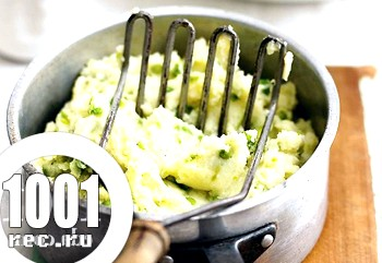 Фото - Картопляне пюре з горошком