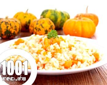 Каша з гарбуза з рисом в мультиварці