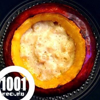 Каша рисова з гарбузом в горщиках