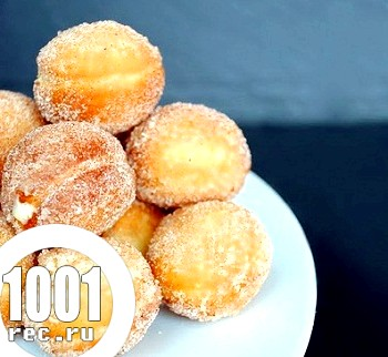 Класичні пончики з лимонним кремом
