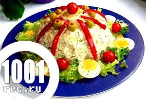 Король салатів - олів'є. Кулінарна історія сьогодення салату Олів'є.