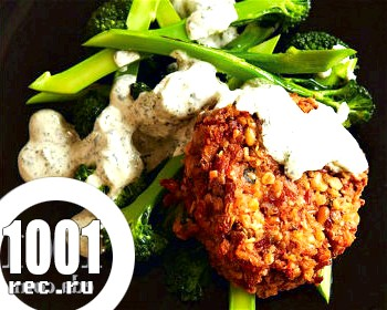 Котлети з яловичої печінки з рисом Ніжні