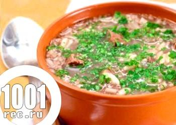 Курячий суп «а-ля харчо»