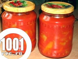 Лечо з помідорів