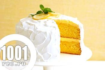 Лимонний тортик для дітей