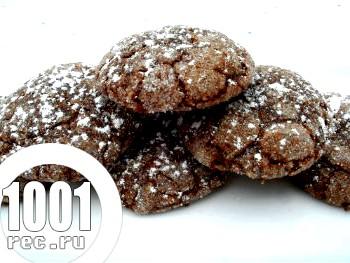 Мигдальне печиво з шоколадом