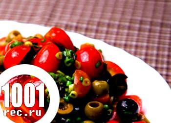 М'ятний салат з білим редисом