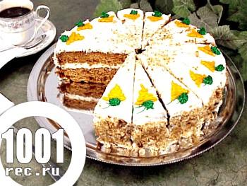 Морквяний торт по-американськи
