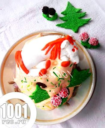 Новорічний мандариновий кекс «Повелителька вершини»: рецепт з покроковим фото
