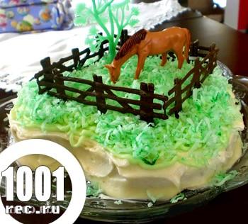 Новорічний торт Фаворит