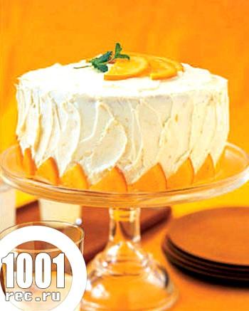 Новорічний торт з апельсином