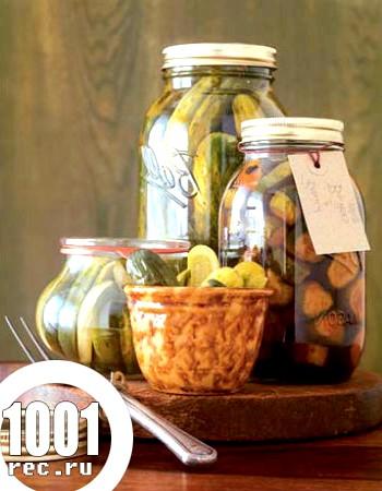 Огірки на зиму з лимонною кислотою