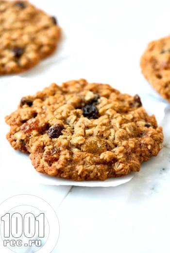 Вівсяне печиво на окропі