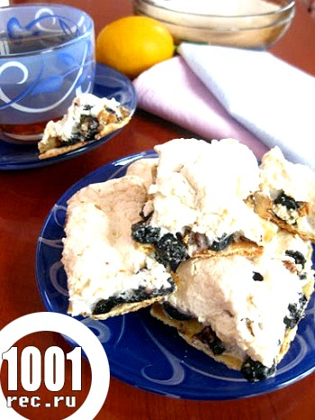 Печиво з меренгою і горіхами