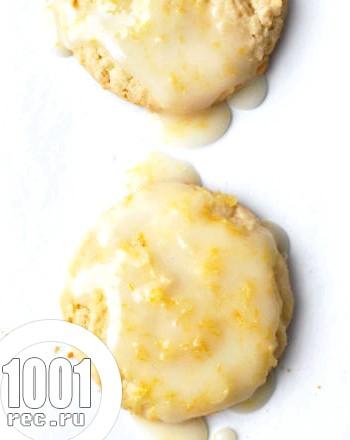 Печиво в лимонної глазурі