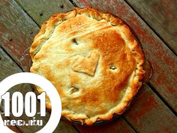 Пиріг з гречано-картопляною начинкою