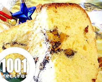 Пиріг з начинкою з маку та горіхів в мультиварці: рецепт з покроковим фото