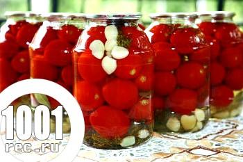 Фото - Рецепт заготовки на зиму помідори мариновані без стерилізації