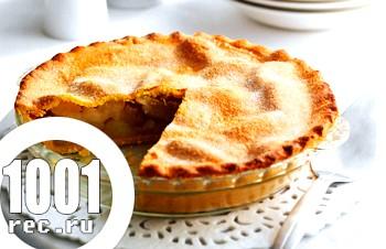 Пісний яблучний пиріг