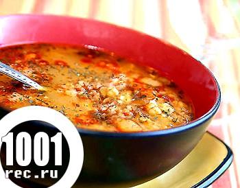 Пісний суп із сочевиці