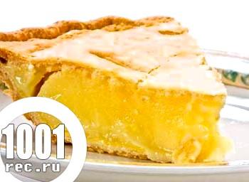 Святковий лимонний пиріг
