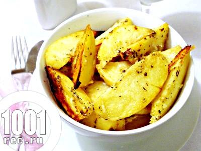 Пряний картопля в гірчичному соусі