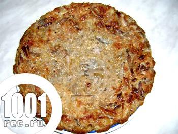 Простий капустяний пиріг